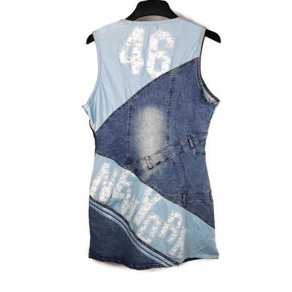 SOHO Babe Denim Plus Size Blue Jean Dress NWT